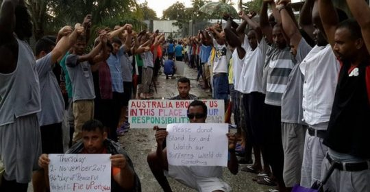 ASRC visit to Manus provides hope in hell