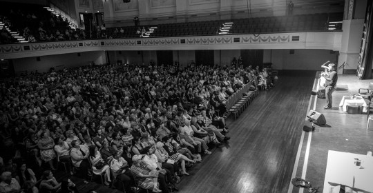 ASRC Supporters Fill the Melbourne Town Hall