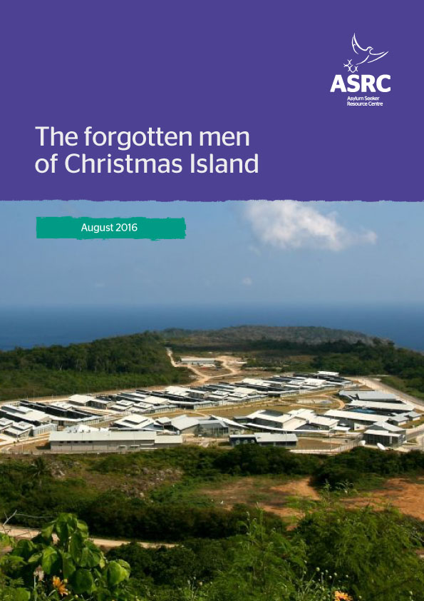 Report cover - The forgotten men of Christmas Island
