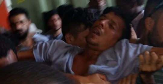 ASRC, Behrouz Boochani statement on violent forced removal at Manus RPC