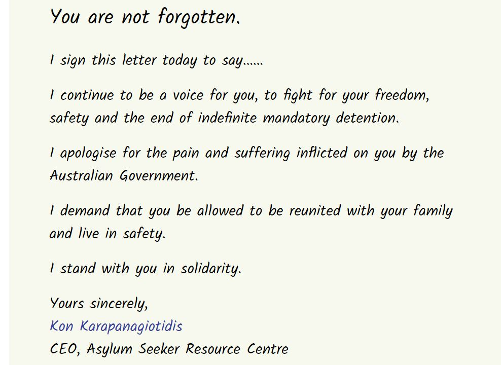 Part of the ASRC's open letter