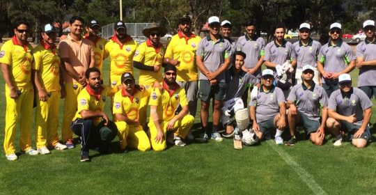 Tasmania hosts Victoria's All Nations Cricket team for 'Don't Give Up Give Back Cup'