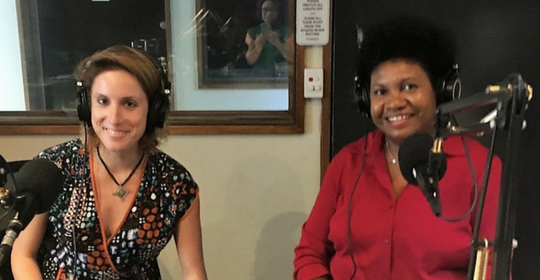 Talking women's opportunity and empowerment with RRR Radio