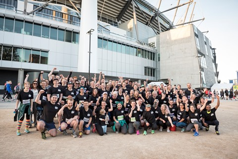 ASRC Run 4 Refugees Participants