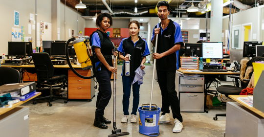 ASRC Cleaning gets ready to grow with commercial clients