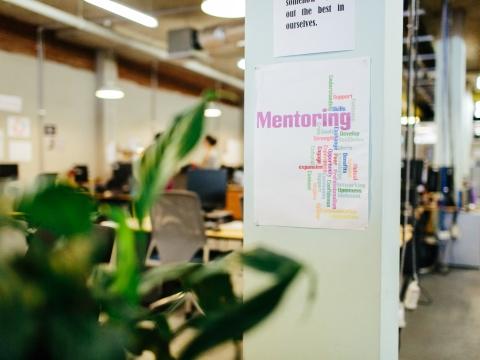 ASRC mentoring program sign