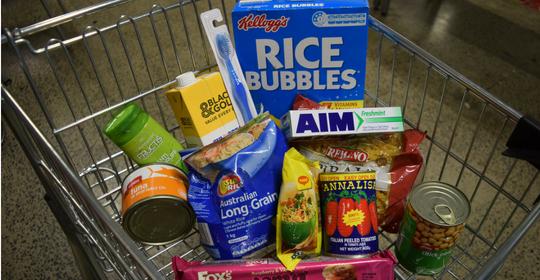 Help create 500 essentials food packs