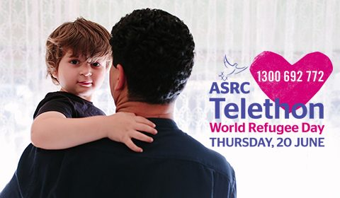 Stand with us at the ASRC Telethon on World Refugee Day (June 20)