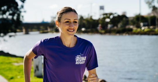 Olympian Madeline Hills Announced as Run 4 Refugees Ambassador 2019