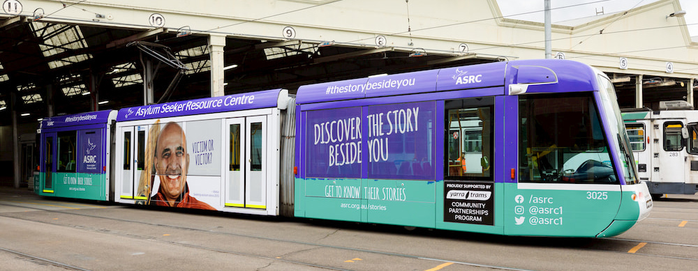 The Story Beside You, Yarra Trams