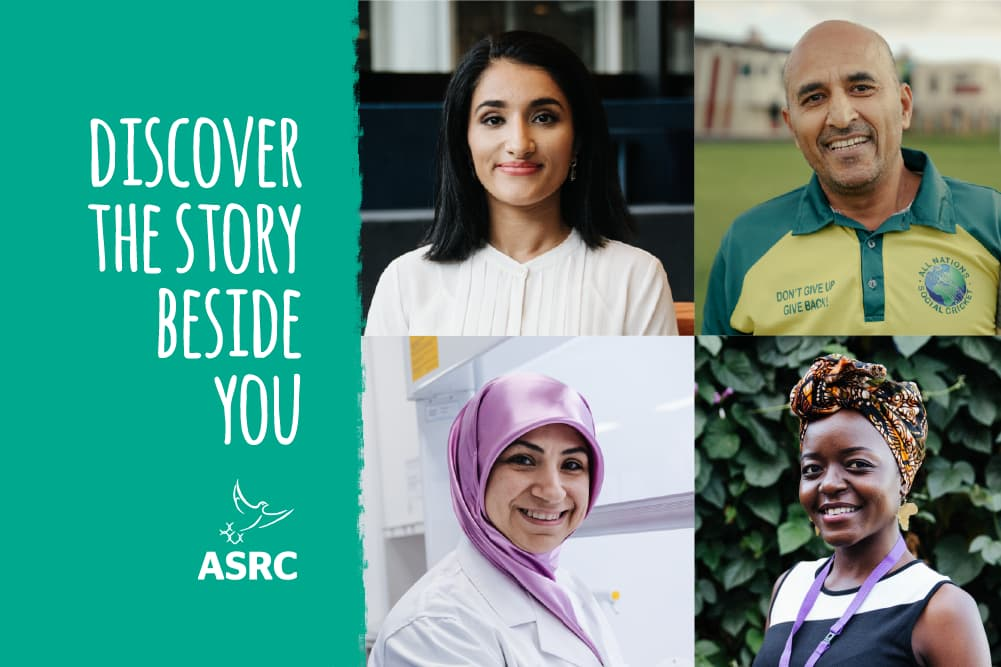 Discover refugee and asylum seeker stories beside you