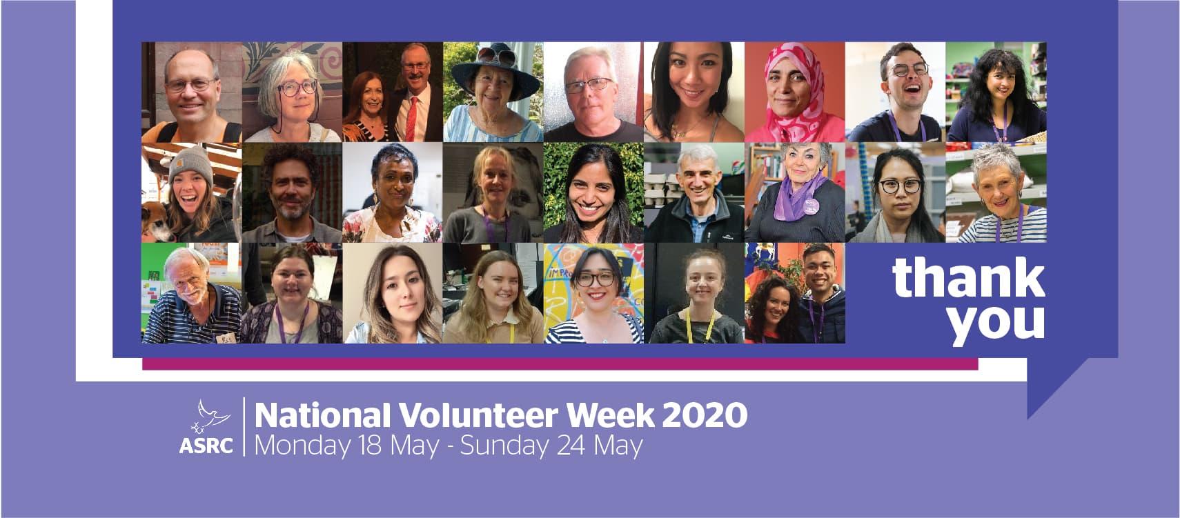 Volunteers are the lifeblood of the ASRC – Celebrating National Volunteer Week 2020