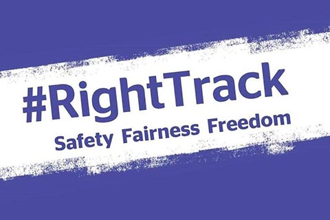 RightTrack Safety Fairness Freedom