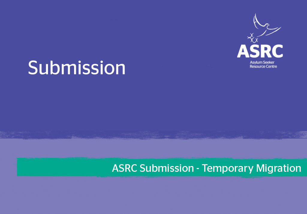 ASRC Submission - Temporary Migration