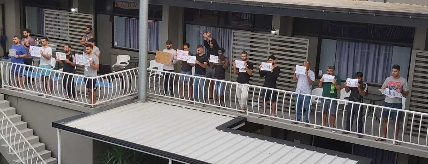 Refugees in Detention COVID-19